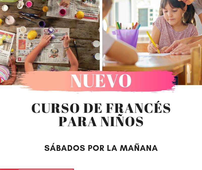 NUEVO – Clases para niños los sábados