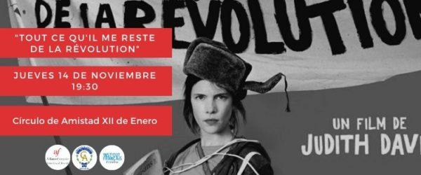 Cine Francés – «Tout ce qu'il me reste de la révolution» en VOSE