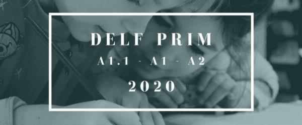 Matrícula DELF PRIM Mayo 2020